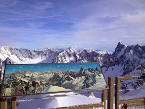 Photo: Looking back towards Switzerland (Matterhorn visible)
