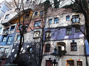 Photo: austria, travel, hundertwasser, house, vienna, wien