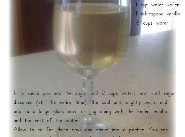 Water Kefer Cream Soda Recipe