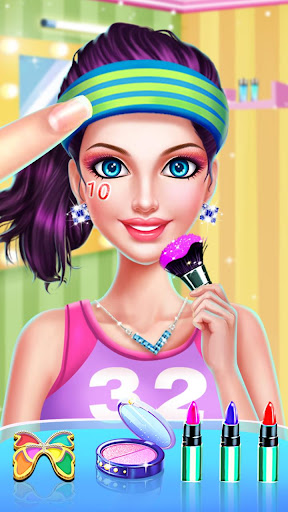 ud83dudc67ud83dudc57Sports Girl Makeup - Keep Fit  screenshots 17