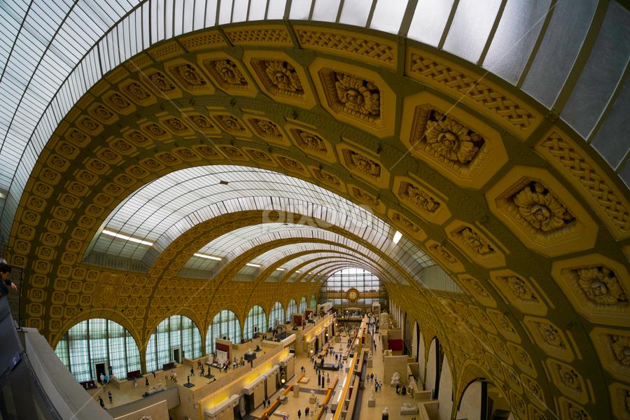 Musée d'Orsay Paris by Aidan CK - Buildings & Architecture Public & Historical ( musée d'orsay paris )