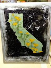 Photo: CA Poppies transfer onto aluminum