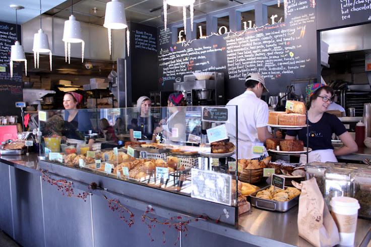 The scene at Flour Bakery. Photo: Catherine Smart.