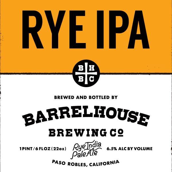 Logo of BarrelHouse Rye IPA