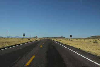 Photo: Driving toward Stallian Gate