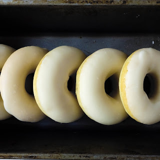 Lemon Glazed Doughnuts (Baked)