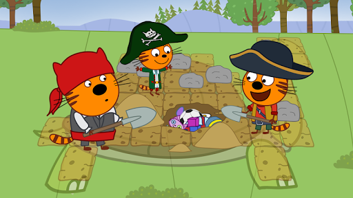 Kid-E-Cats: Pirate treasures. Adventure for kids apkdebit screenshots 16