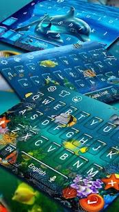 Akvarijní klávesnice - náhled