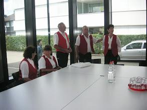 Photo: Im Warteraum vor dem Auftritt