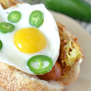 Jalapeno Sausage Breakfast Sandwich