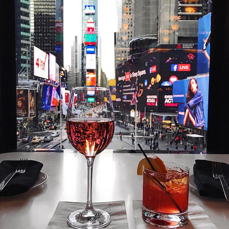 This could be your view. Photo: Renaissance Times Square.