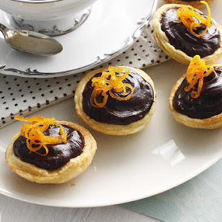 Chocolate Orange Tartlets