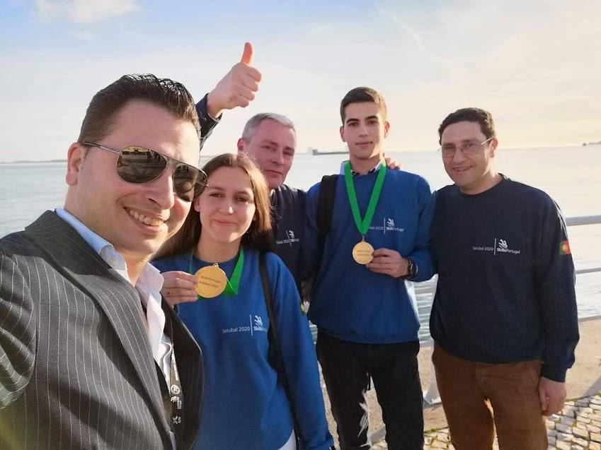 Alunos da Escola de Hotelaria do Douro-Lamego campeões nacionais no Portugal Skills 2020