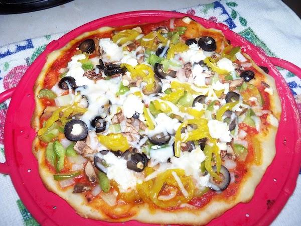 Mushroom And Goat Cheese Pizza Recipe