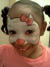 Photo: Hello Kitty Face paint Mask by Teressa in Garden Grove, Ca.Call to booked Teressa for your next event: 888-750-7024