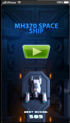 MH370 Space Ship