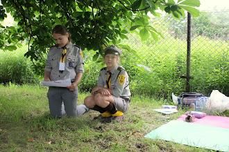 Photo: harcerki opowiadały o szkole dla parobków...