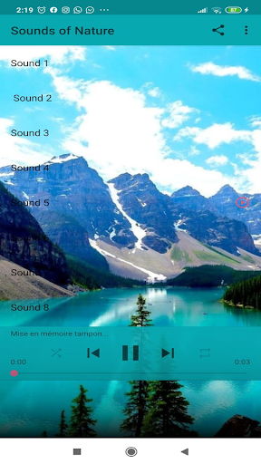 Sounds of Nature screenshot 1