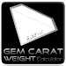 Gem Carat Weight Calculator icon
