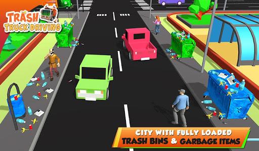 Urban Garbage Truck Driving - Waste Transporter 1 screenshots 19