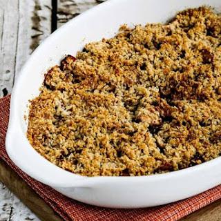Low-Sugar Flourless Vegan Apple Crisp Recipe