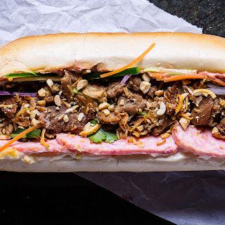 Charred Pork Banh Mi