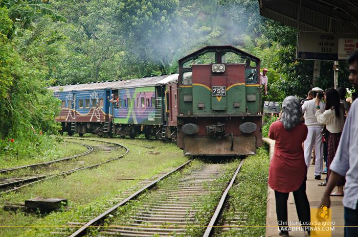 Sri Lanka Railways Main Line Ella