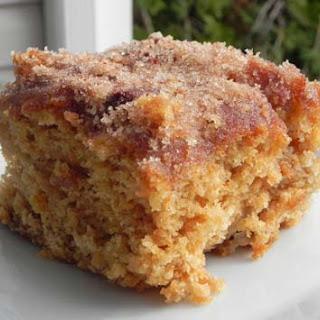 Cinnamon Sugar Apple Cake.