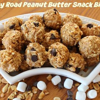 Rocky Road Peanut Butter Snack Bites