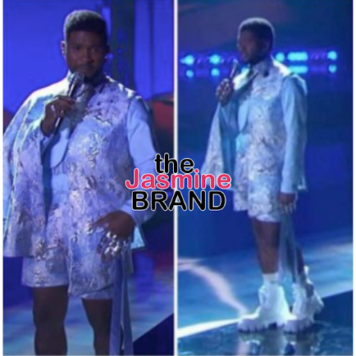 Usher Fans React To Interesting Wardrobe Choice: Why Is He Dressed Like A Grambling University Majorette?