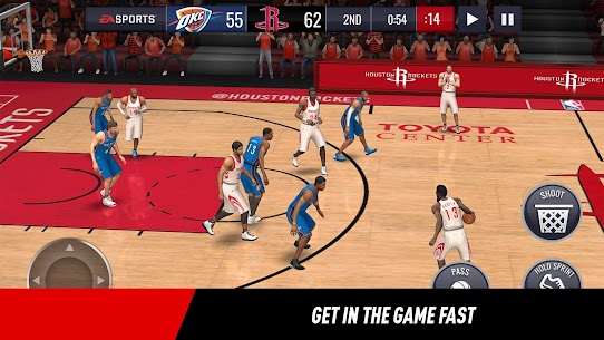 NBA LIVE Mobile Basketball MOD (Unlock Full) 5