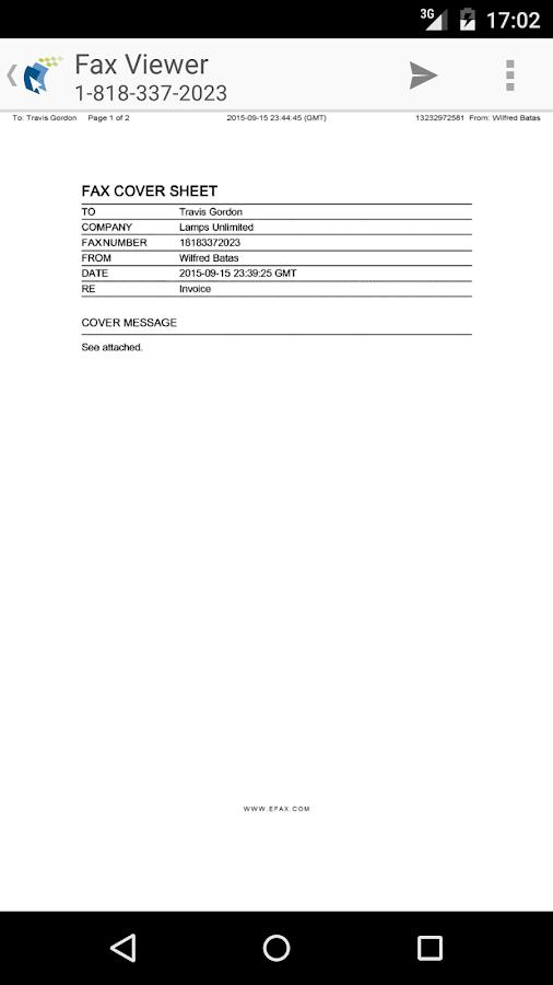 free fax machine app