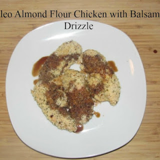 Paleo Almond Flour Chicken with Balsamic Drizzle