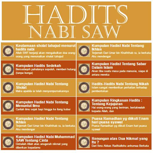 Kumpulan Hadits Nabi Saw Apk 2 3 Download Free Books Reference