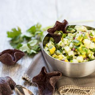 Chunky Avocado Jicama Salsa