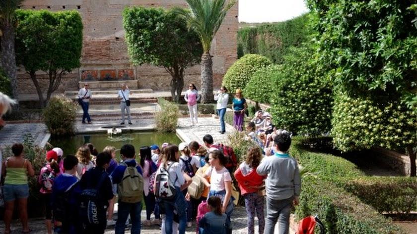 La Alcazaba de Almería, abre sus visitas gratuitas a los centros educativos.