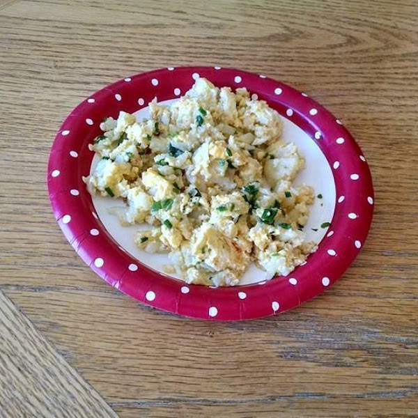Cauliflower Egg Scramble Recipe