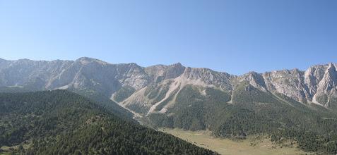 Photo: Chauvay ravine (view S)