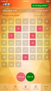 Chơi Vietlott Mega 6/45,Max 4D screenshot 0