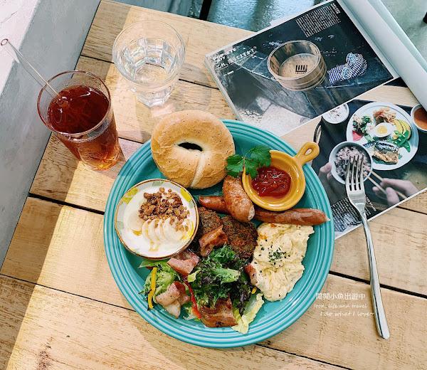 福丸早餐。巷弄裡的森林系早午餐,超美味貝果、高CP值,東門站美食餐廳