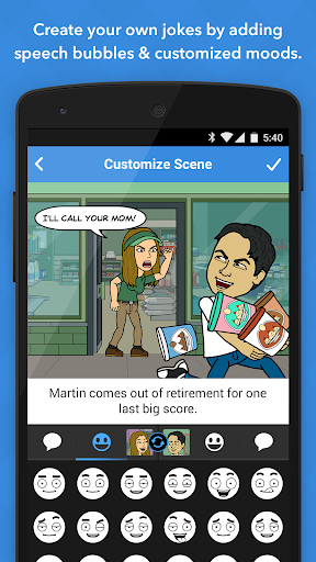 Bitstrips screenshot 4