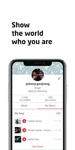 Soundfren - Music Professional Social Networking screenshot 3
