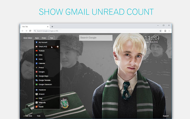 Harry Potter Wallpapers HD New Tab Themes