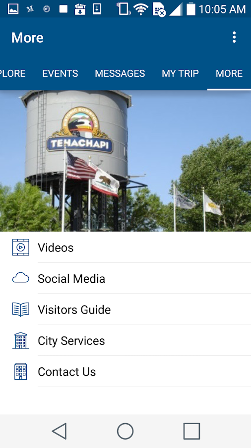 Visit Tehachapi- screenshot