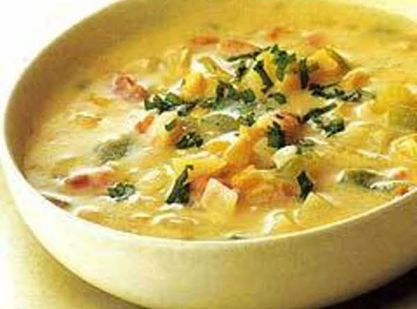 Fusion Chicken Corn Chowder Recipe