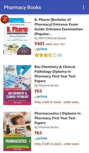 Pharmacy Books at Amazon 1.0 screenshots 2