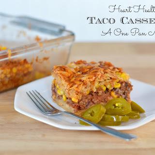 Heart Healthy Taco Casserole