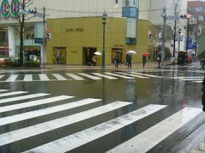 Photo: an intersection in Shibuya