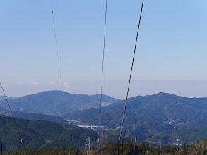 富幕山(左)と浅間山(右)