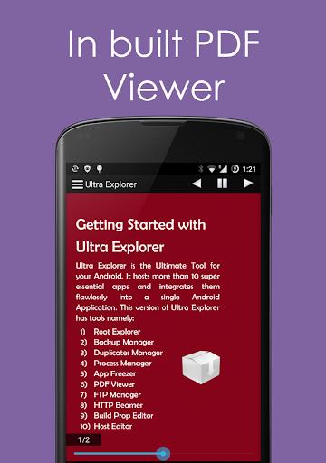 Ultra Explorer [Root Browser] 1.2.9 screenshots 2